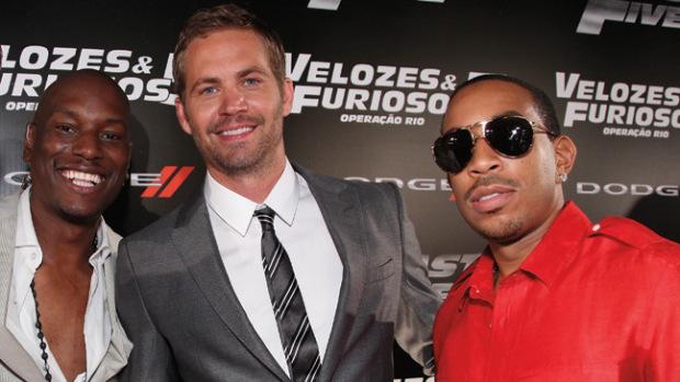 """Vin Diesel, Tyrese Gibson, Paul Walker, Chris """"Ludacris"""" Bridges"""